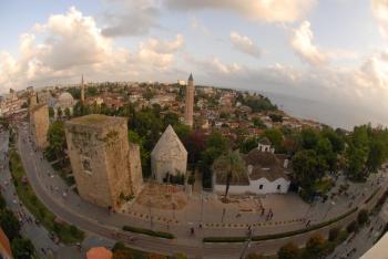 Antalya müze ve ören yerlerine ziyaretçi akını
