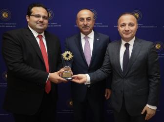 Antalya Teknokent'e Birincilik Ödülü