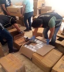 Antalya'da 12 bin 245 şişe kaçak parfüm ele geçirildi