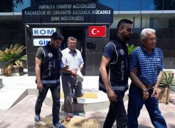 Antalya'da 21 şüpheli yakalandı