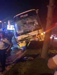 Antalya'da 3 aracın çarpıştığı kazada ortalık savaş alanına döndü: 7 yaralı