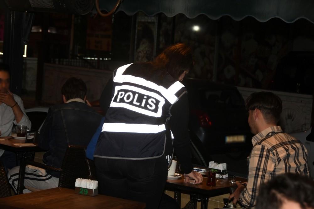 Antalya'da aranan 205 şüpheli yakalandı