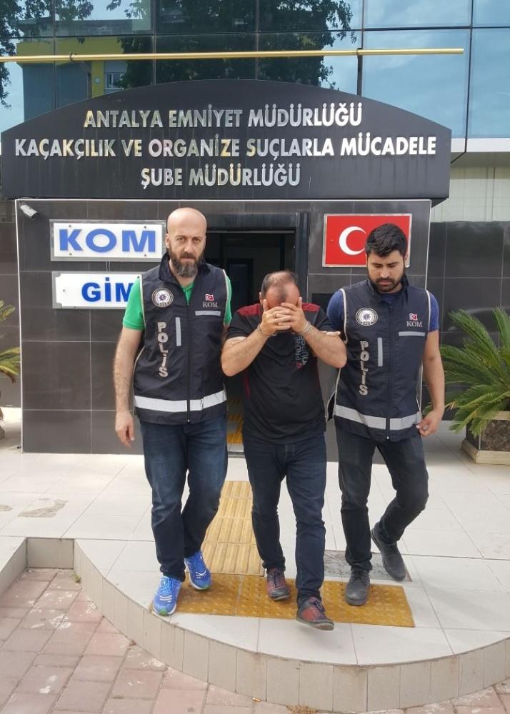 Antalya'da aranan şahıslara yönelik operasyon
