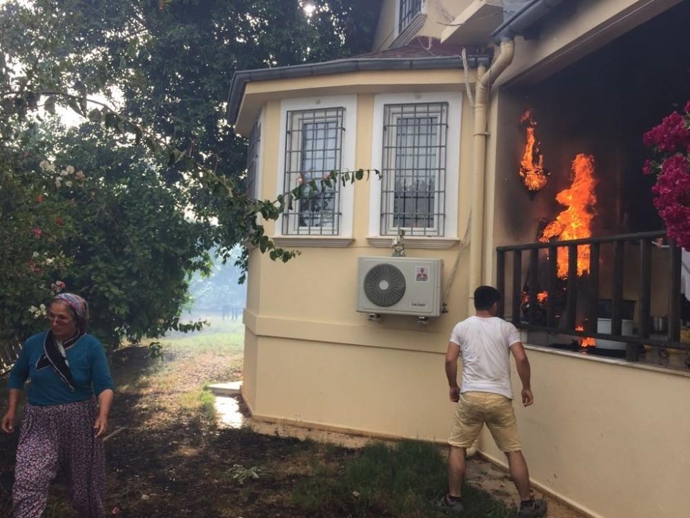 Antalya'da aynı yerde 2 gün arayla ikinci yangın