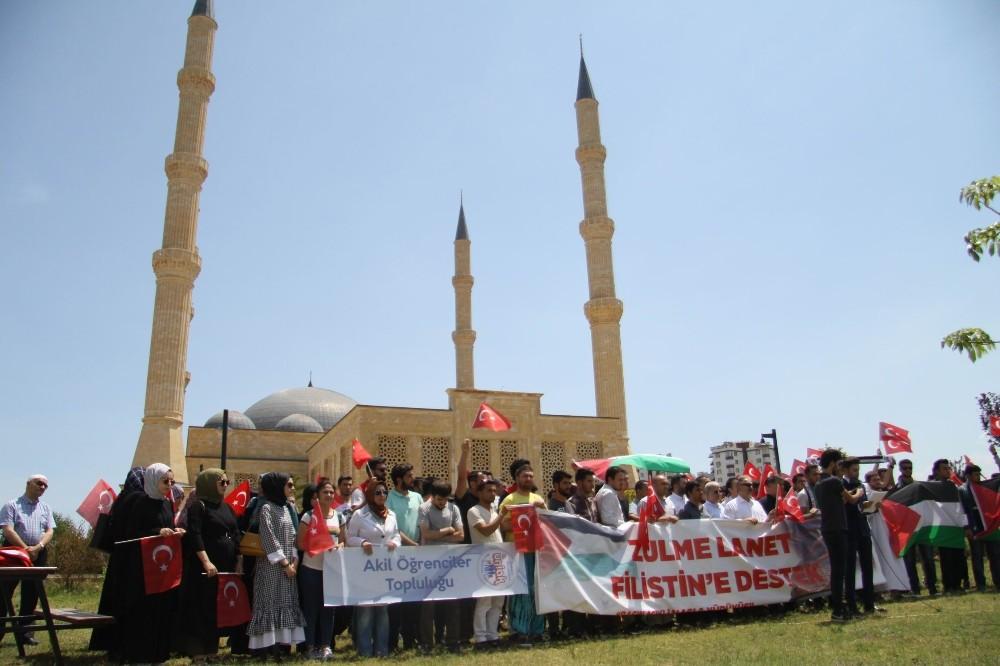 Antalya'da İsrail ve ABD'ye tepki