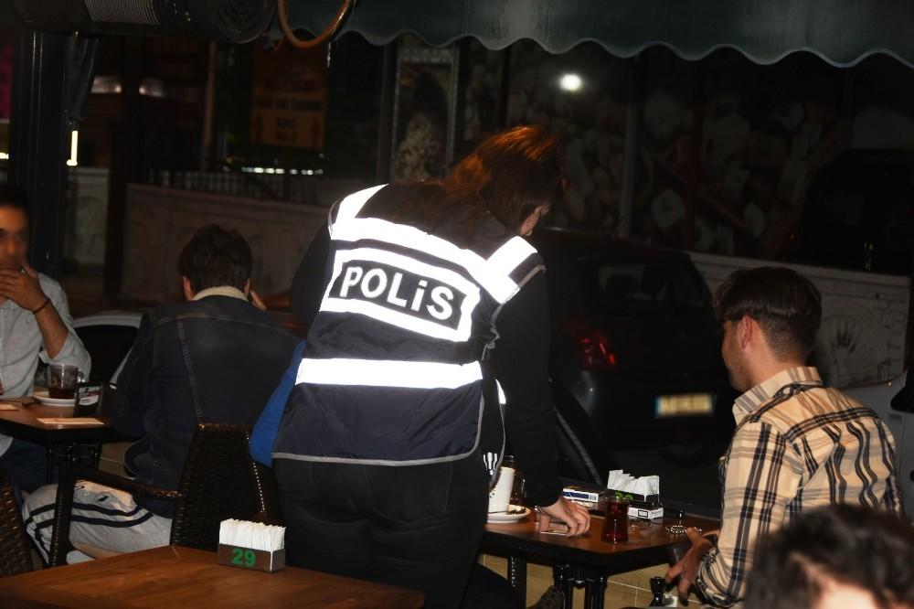 Antalya'da yabancı uyruklu aranan şahıslara yönelik uygulama