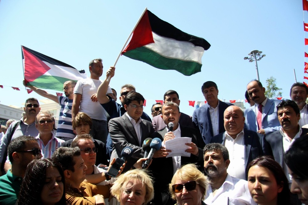 Antalya'dan İsrail'e tepki