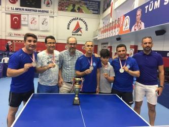 ASAT Spor Masa Tenisi Takımı Süper Lig'e yükseldi