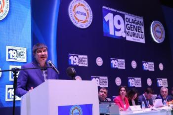 """Başkan Türel: """"Esnafımızla Türkiye'ye örnek olan çalışmalar yapıyoruz"""""""