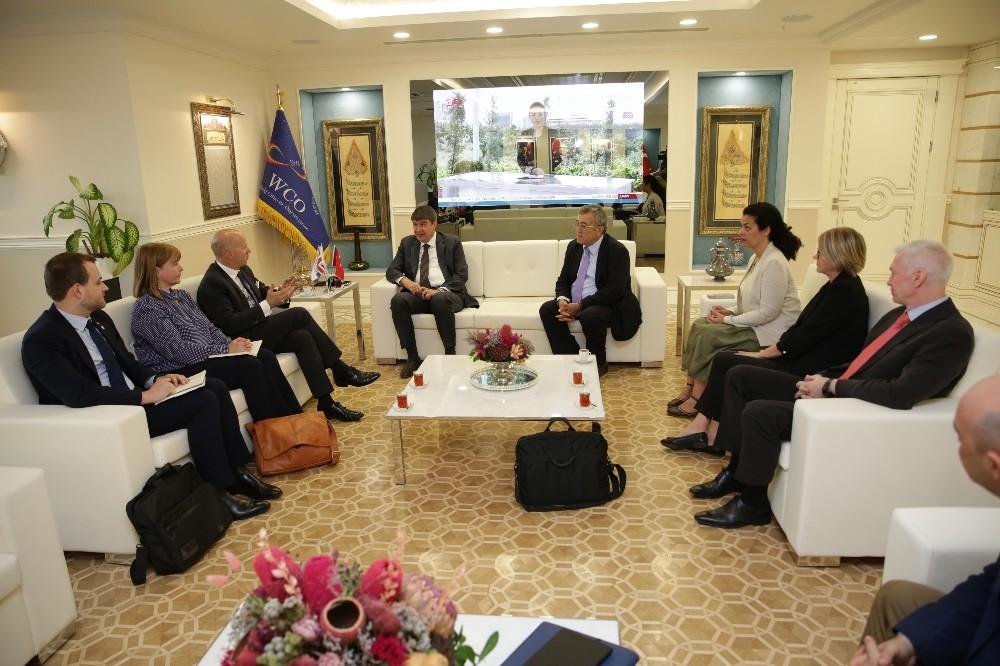 Başkan Türel, İngiltere Büyükelçisini ağırladı