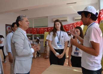 Başkan Uysal, Bilim Fuarı'nı açtı