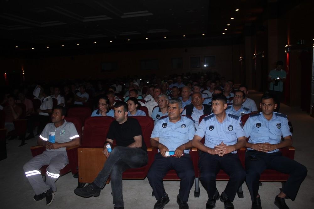 Belediye Personeline Terör ve Kent Güvenliği Semineri