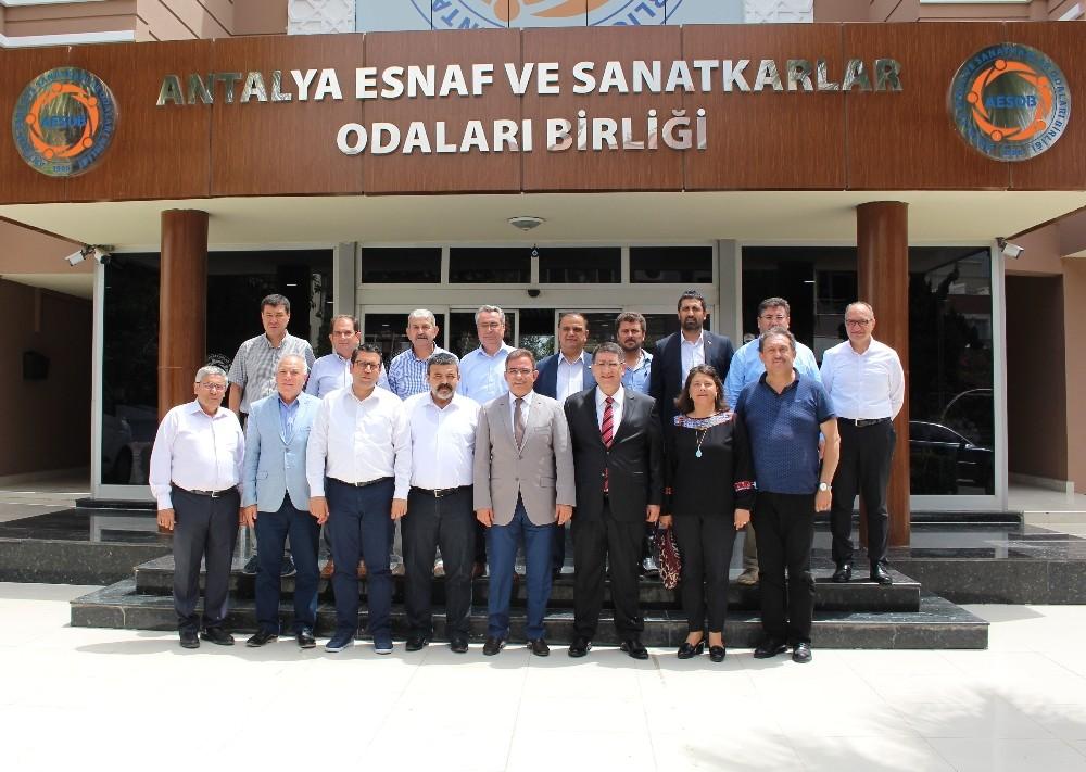 CHP Milletvekili adayları AESOB'ta