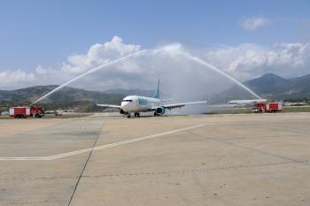 Corendon Gazipaşa Alanya Havalimanına uçuş başlattı