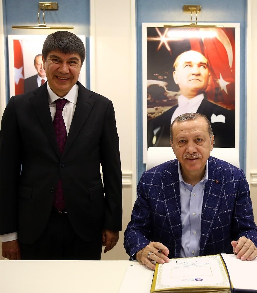 Cumhurbaşkanı Erdoğan Çalkaya Kentsel Dönüşüm Projeni onayladı