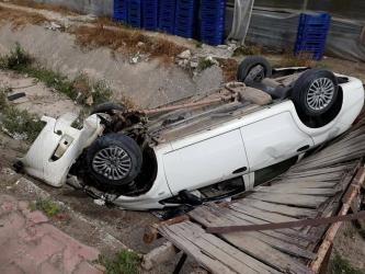 Demre'de trafik kazası: 1 yaralı