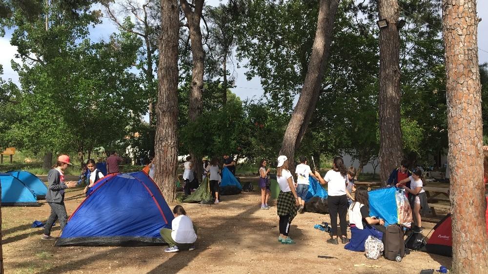 Doğada ekoloji eğitimi ve kamp deneyimi