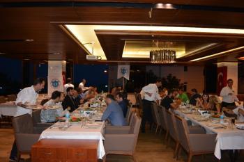 DTO'dan üyelerine iftar