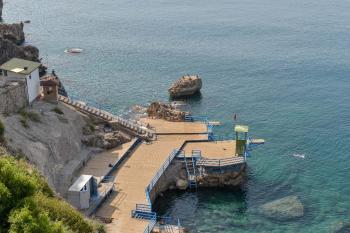 Falez plajları yeni sezona hazır