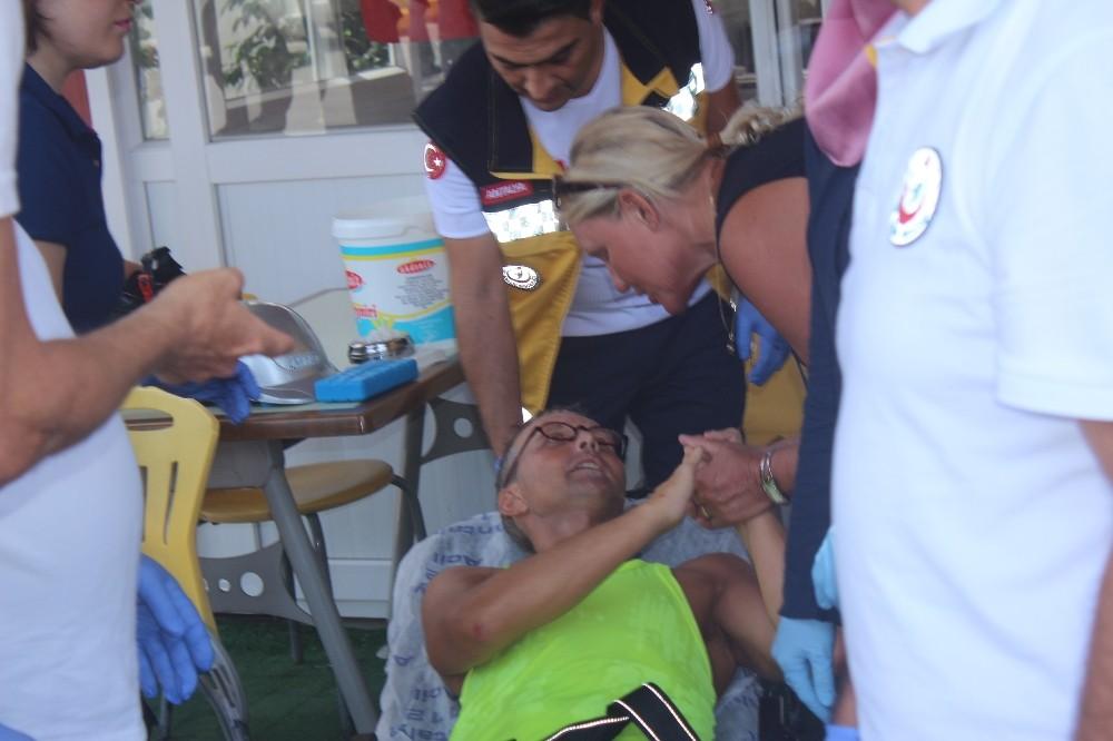 Hollandalı Turistler Motosiklet Kazasında yaralandı