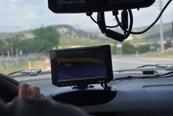 Korkuteli ilçesinde gezici radar yollarda