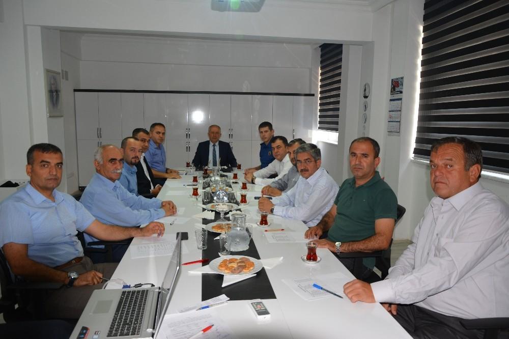 Kumluca'da Seçim Güvenliği toplantısı
