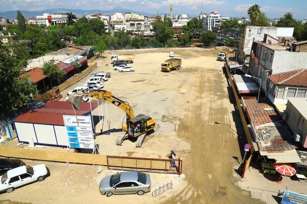 Manavgat Kent Meydanı projesi başladı