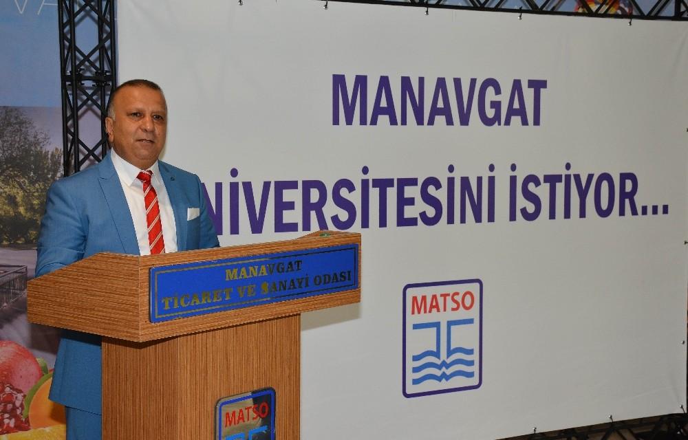 Manavgat Üniversitesini istiyor