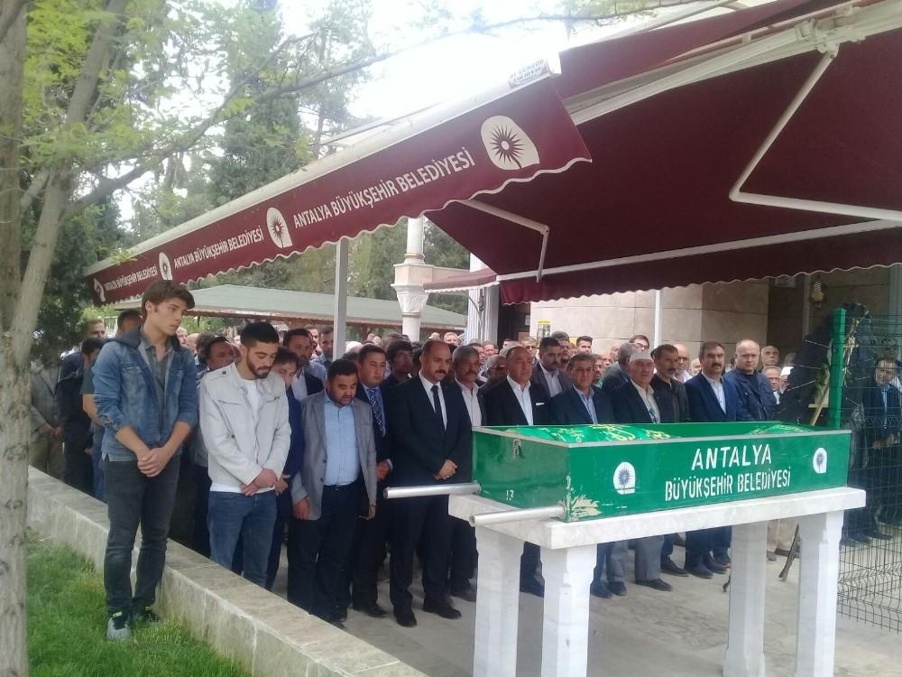 MHP Korkuteli ilçe başkanının acı günü