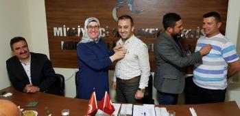 MHP Korkuteli'ye 15 yeni üye