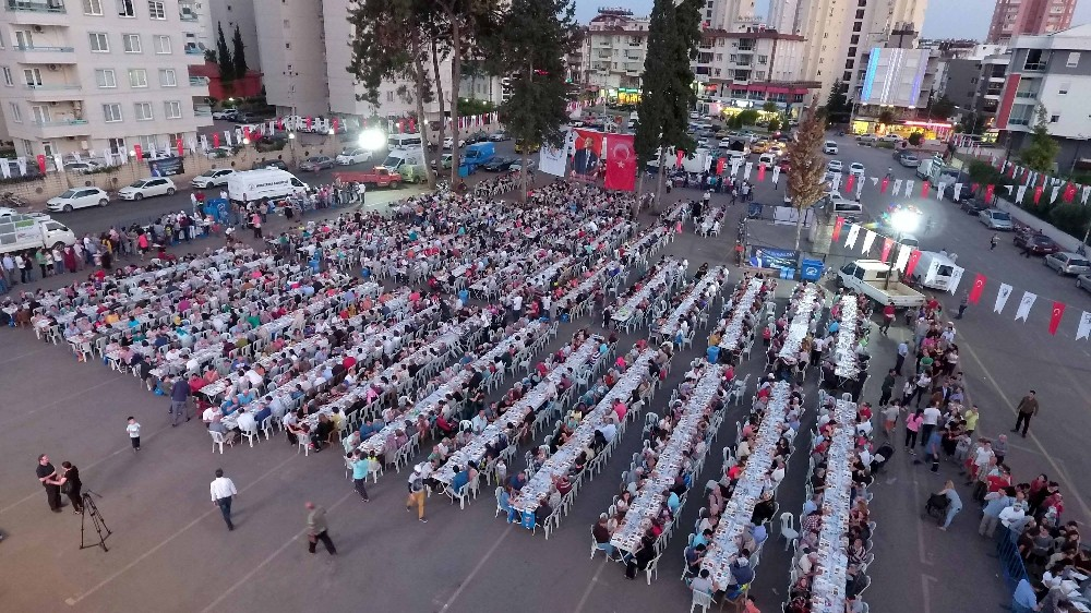 Muratpaşa'da ilk iftar engellilerle