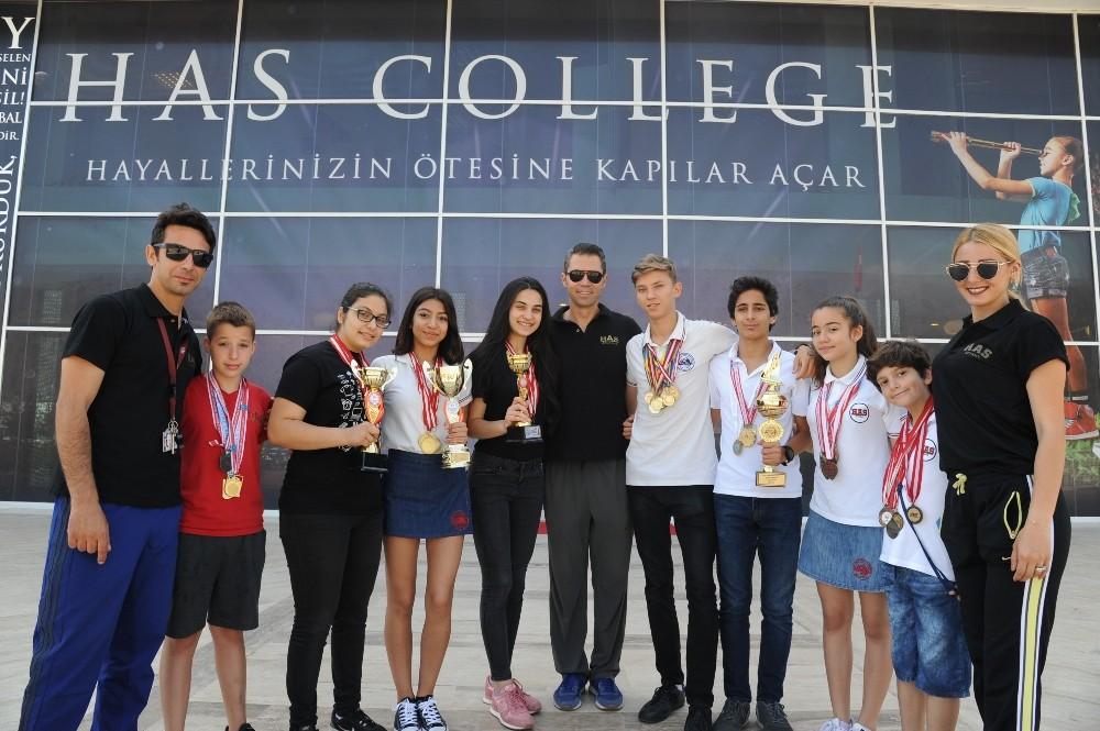 Öğrencilerden büyük başarı