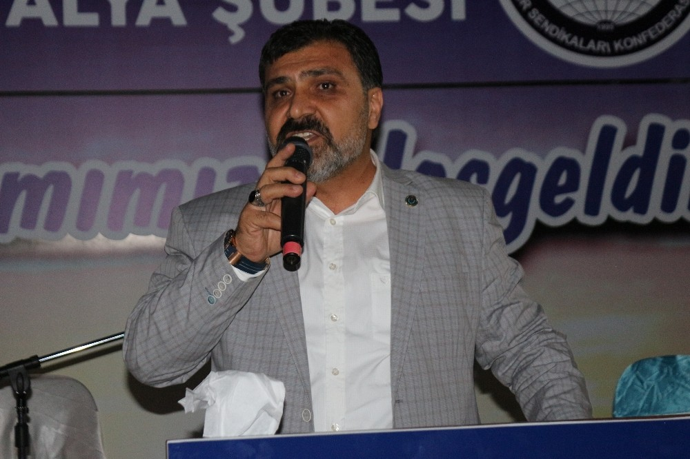 Sağlık-Sen Antalya Şubesinden iftar programı