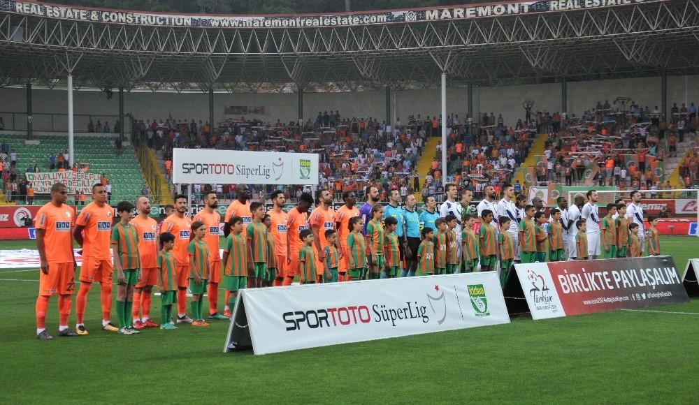 Spor Toto Süper Lig: A. Alanyaspor: 1 – Osmanlıspor: 1 (Maç sonucu)