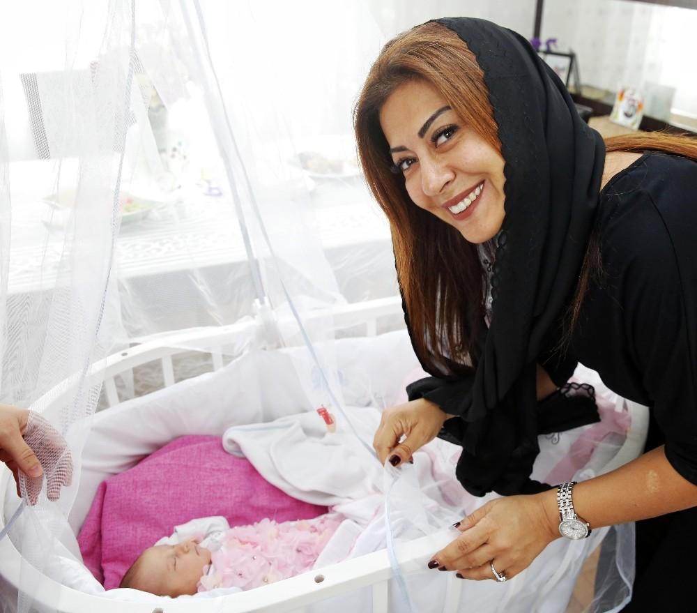 Türel'den Ebru bebeği ziyaret