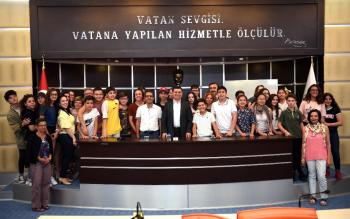 Tütüncü'den Antalya tanıtımı