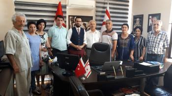 Özbekistan bilim heyeti Aksan'ın koordinasyonunda Antalya'da ziyaretlerde bulundu