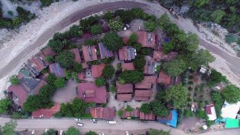 Alernatif turizmin gözdesi: 'Ağaç evler'