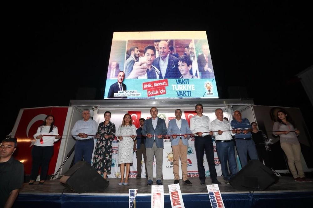 Antalya'da 30 milyonluk TL'lik tarım makineleri açılışı