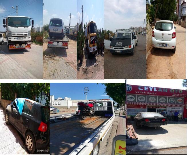 Antalya'da çalışnı ve hacizli araç uygulaması