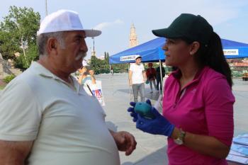 Antalya'da 'Dünya Tütünsüz Günü' etkinliği