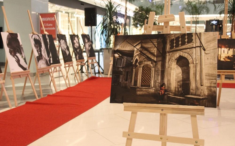 Antalya'da 'Hayata Bıraktığı İzler' portre fotoğraf sergisi