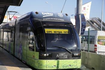 Antalya'da Resmi plakalı otobüsler ve tramvay bayramda ücretsiz