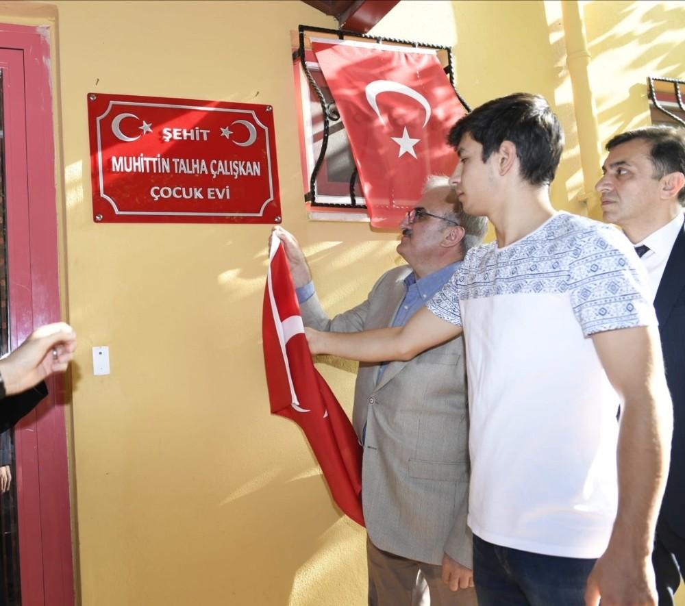 Antalya'da şehidin adı yetimhaneye verildi