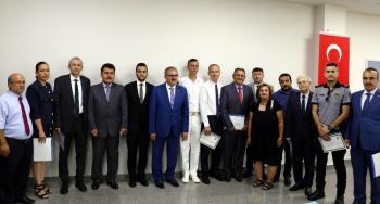 Antalya'da uyuşturucu ile mücadele edenler ödüllendirildi
