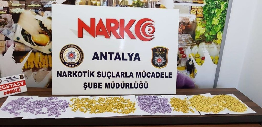 Antalya'da uyuşturucu operasyonu: 4 tutuklama