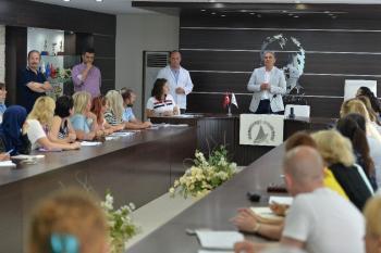 Antalya'da yerleşik yabancılara Türkçe kursu