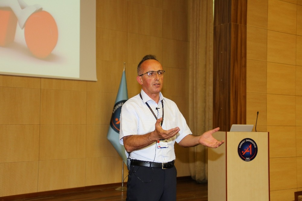AÜ Personeline İş Sağlığı ve Güvenliği Eğitimi