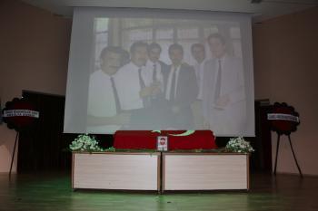 AÜ'den Prof. Dr. Çakmakçı'ya veda