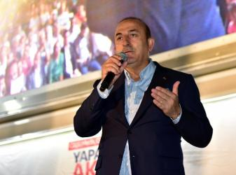 Bakan Çavuşoğlu'ndan Kepez'e 5 müjde